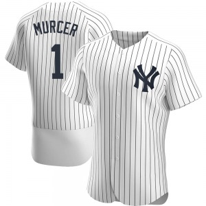 Men's New York Yankees Bobby Murcer Authentic White Home Jersey