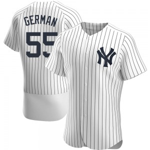 Men's New York Yankees Domingo German Authentic White Home Jersey