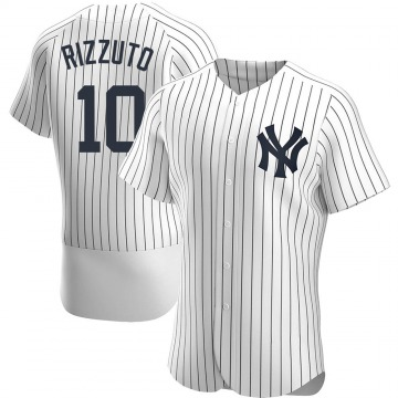 Men's New York Yankees Phil Rizzuto Authentic White Home Jersey