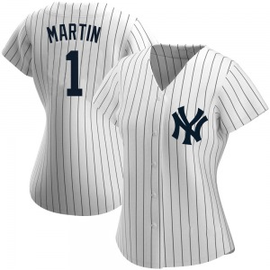 Women's New York Yankees Billy Martin Replica White Home Name Jersey