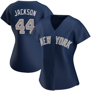 Women's New York Yankees Reggie Jackson Replica Navy Alternate Jersey