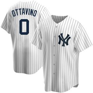 Youth New York Yankees Adam Ottavino Replica White Home Jersey