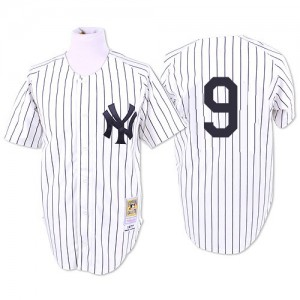 Men's Mitchell and Ness New York Yankees Roger Maris Replica White 1961 Throwback Jersey